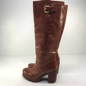 Dissona Italian leather Pull on Boots